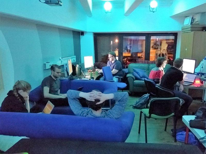 Hacker des Paderborner Teams
