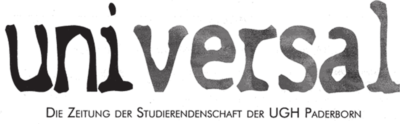 Das erste Logo der universal