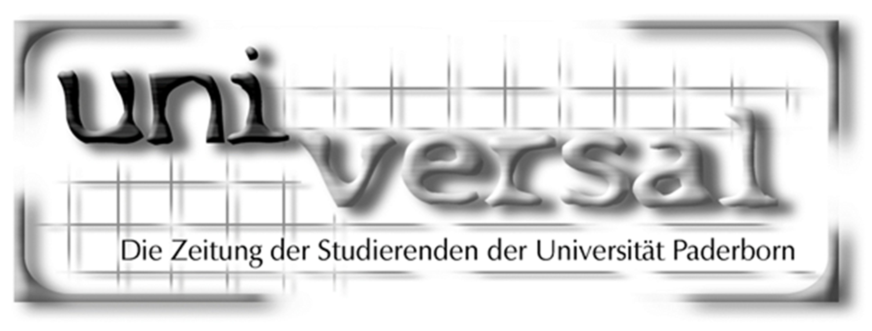 Das Logo der universal, als Karen Neff Chefredakteurin war