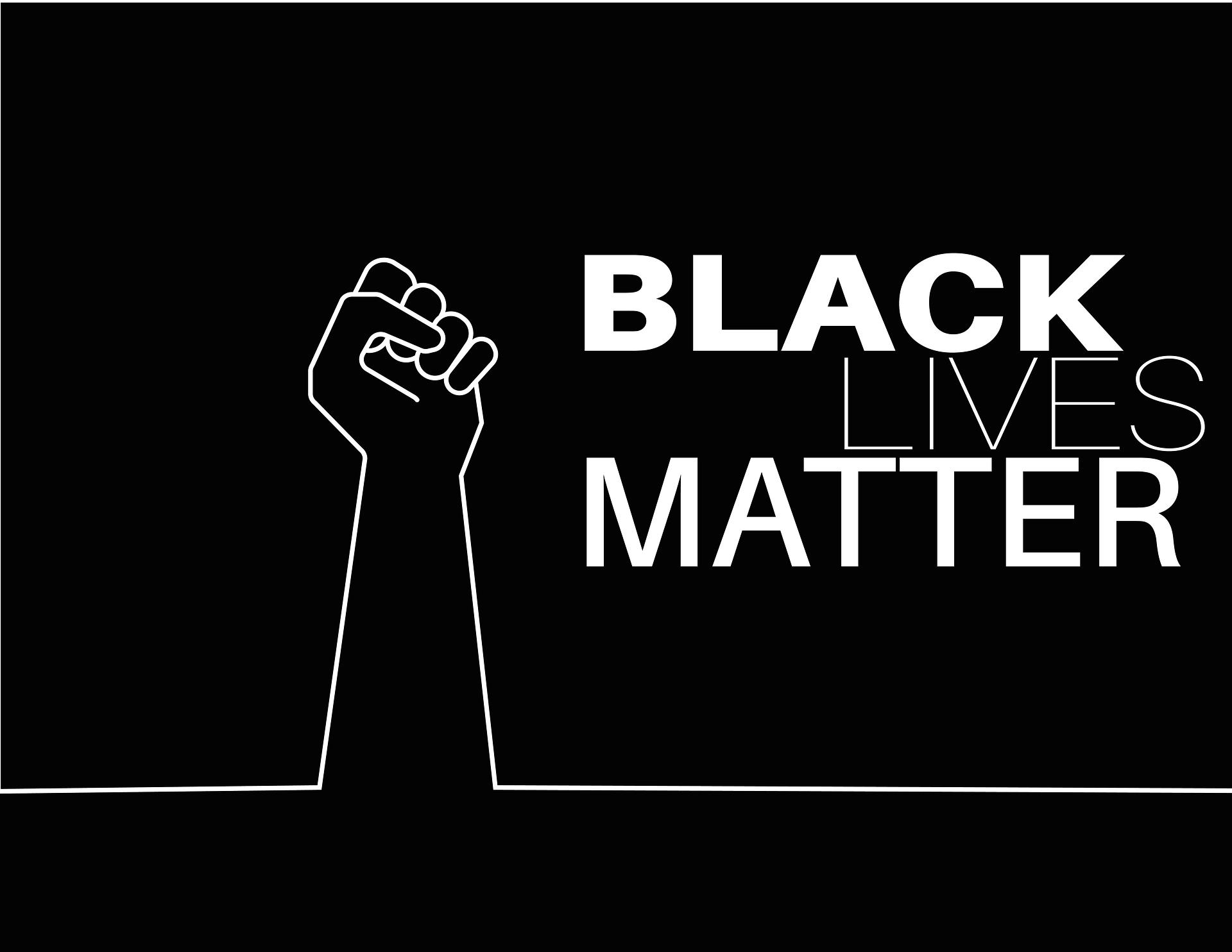 Die internationale Bewegung Black Lives  Matter ist in den USA entstanden. und hat auch das Bündnis gegen Rechts (BgR) in  Paderborn dazu angeregt, Kundgebungen  und Mahnwachen zu organisieren:  Instagram @bgr_paderborn, Quelle: Pixabay