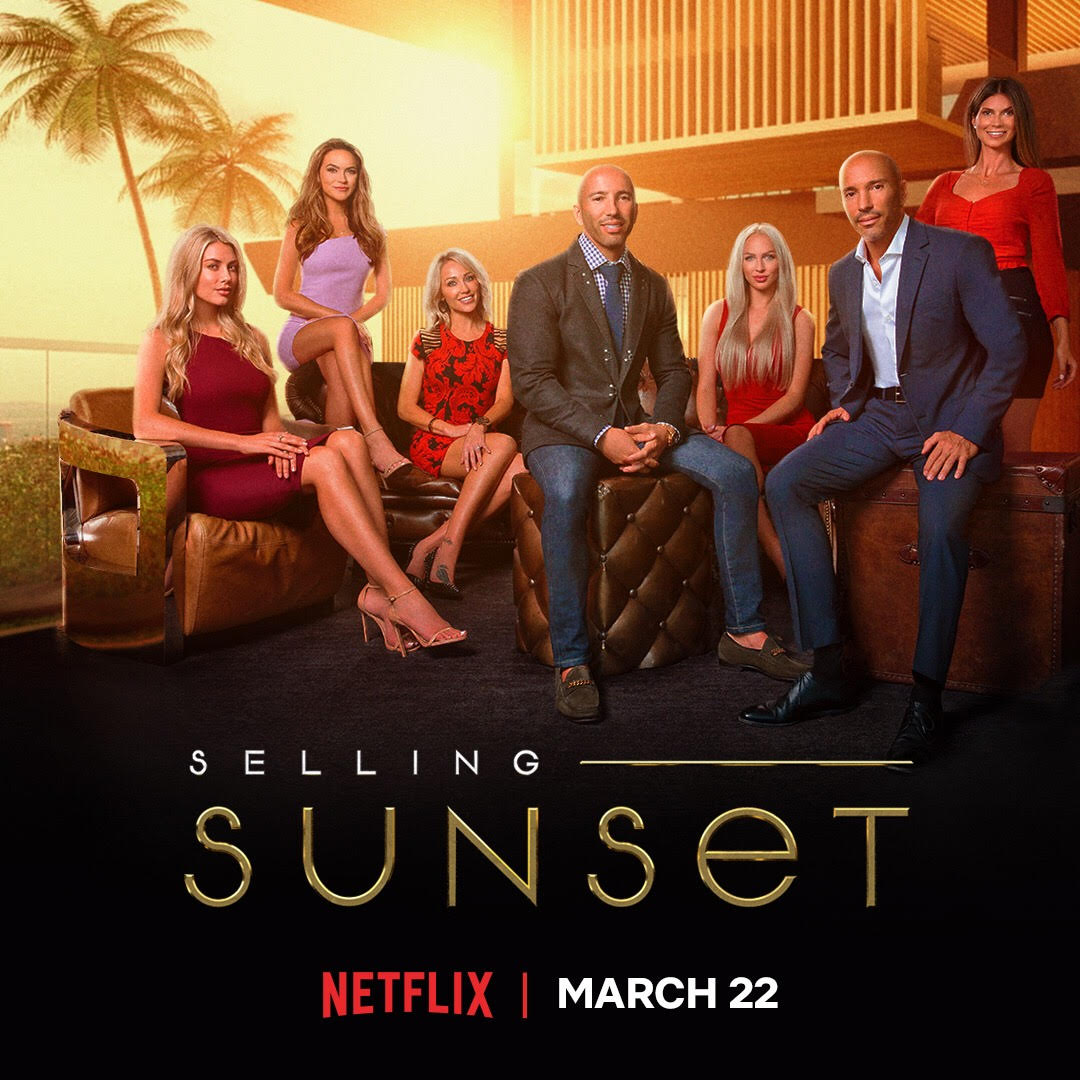 "Plakat von ""Selling Sunset"", Quelle: Netflix"