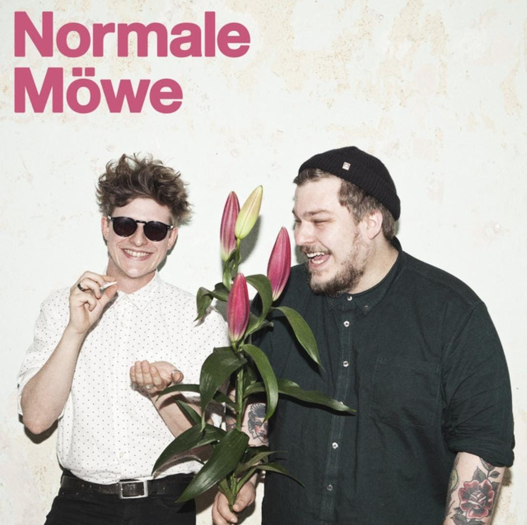 "Poster vom Podcast ""Normale Möwe"", Quelle: Spotify"