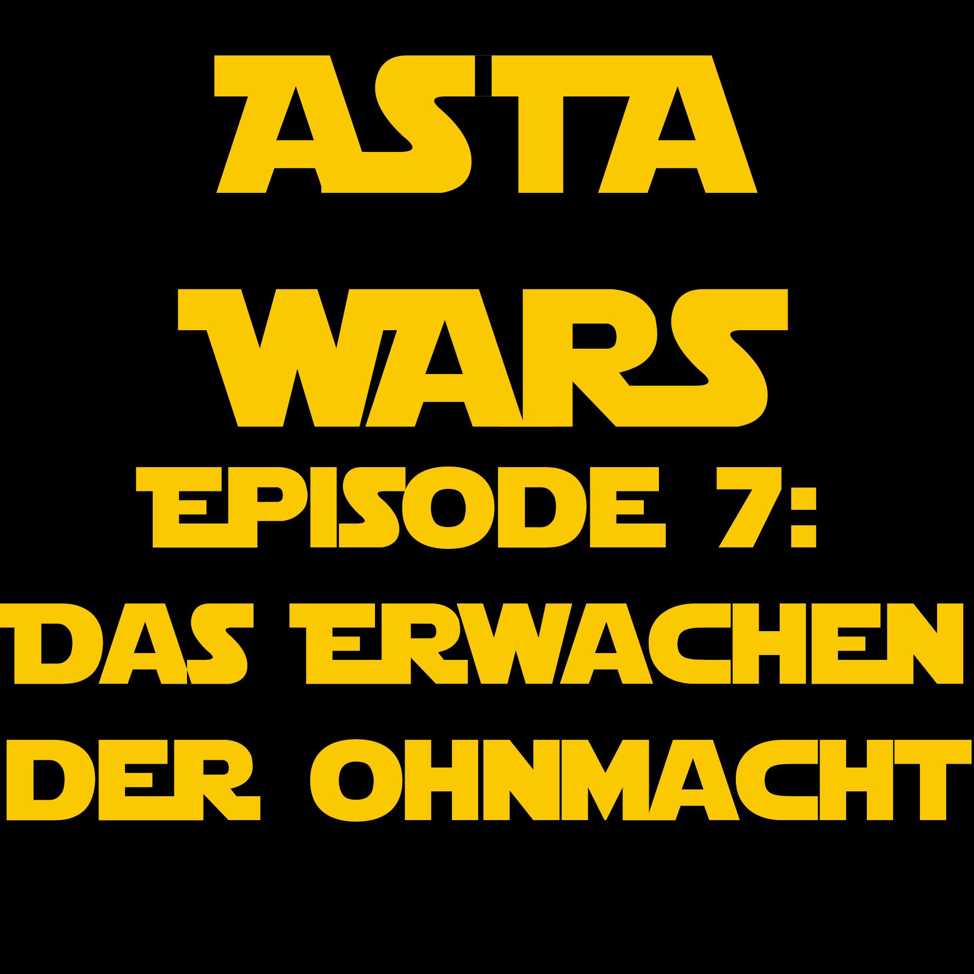 """""""AStA WARS - Episode 7: Das Erwachen der Ohnmacht""""-Logo, Quelle: msc"""